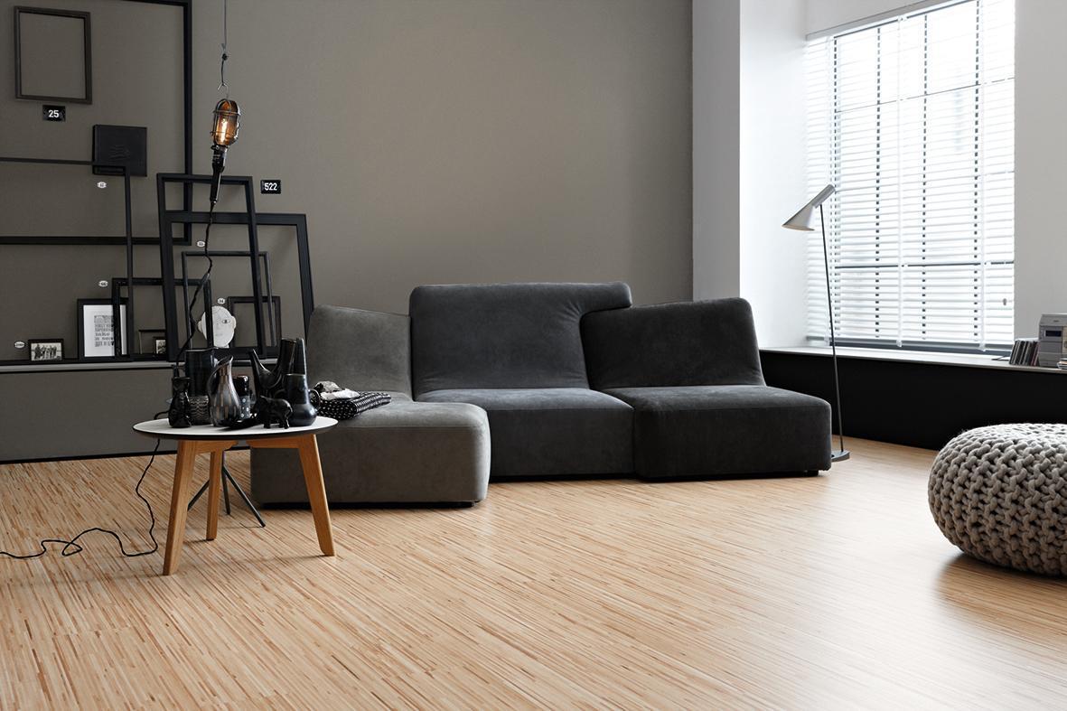 Graue Couch Wandfarbe