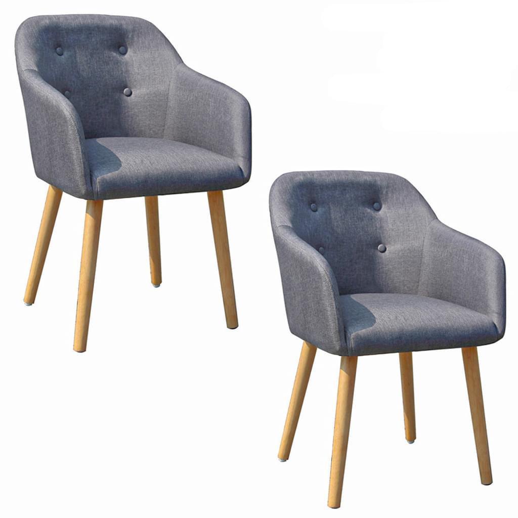 Graue Stühle Mit Holzbeinen