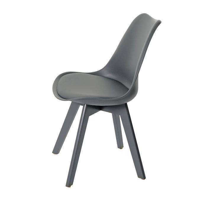 Graue Stühle Mit Weißen Beinen