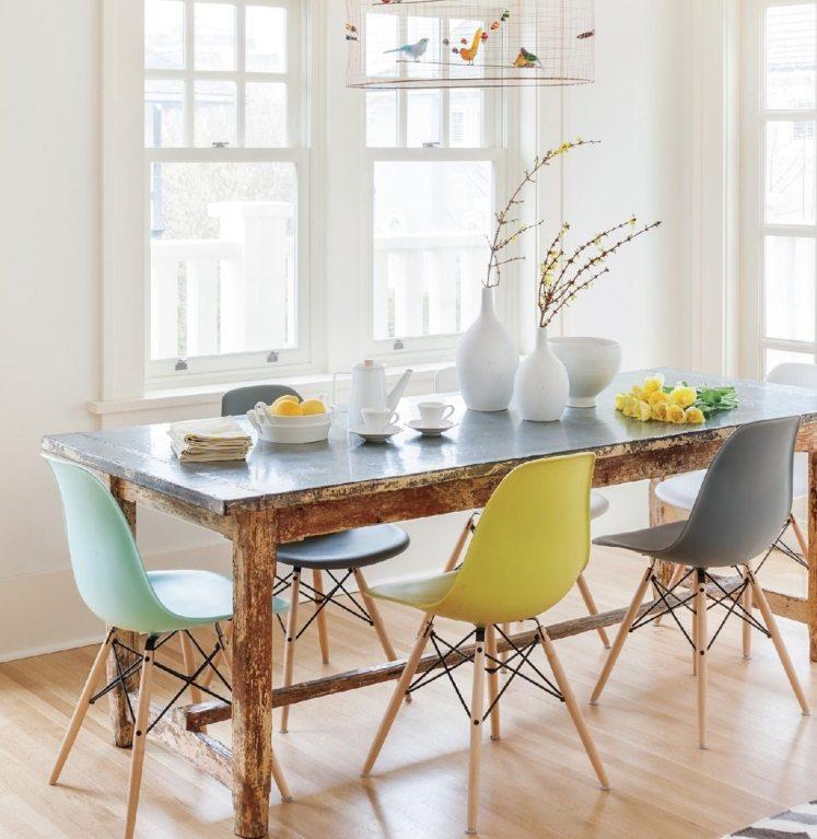 Großer Esstisch Mit Stühlen Modern