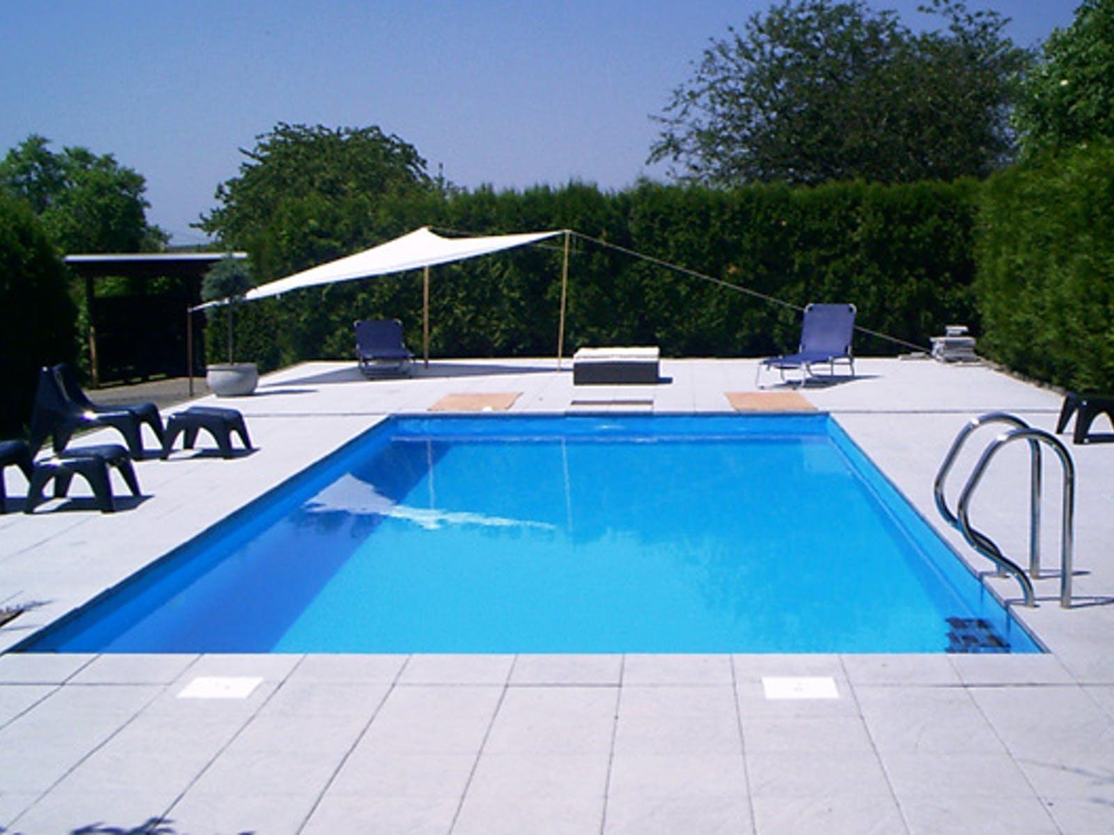 Großer Pool Für Den Garten