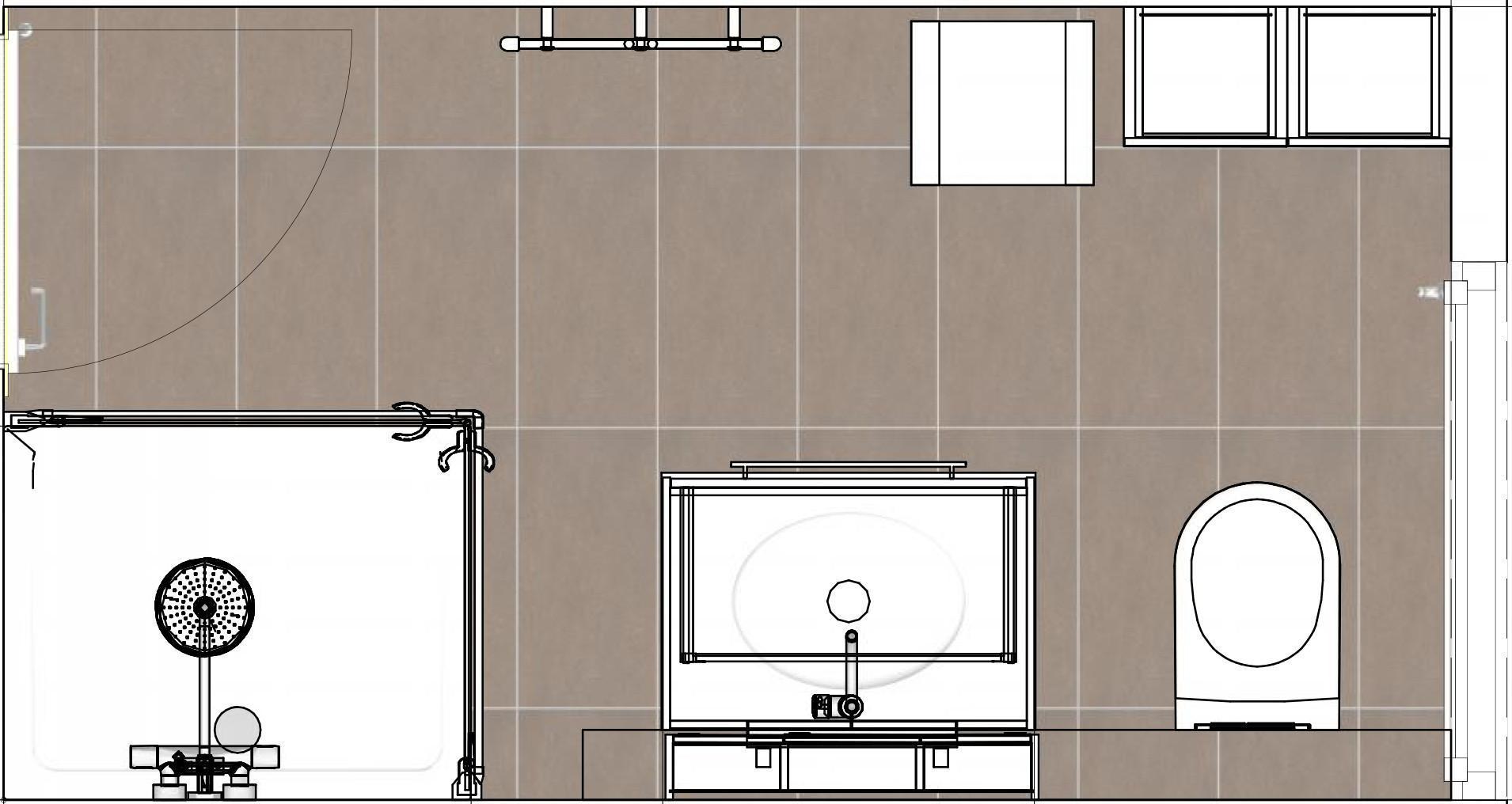 Grundriss Badezimmer 8 Qm
