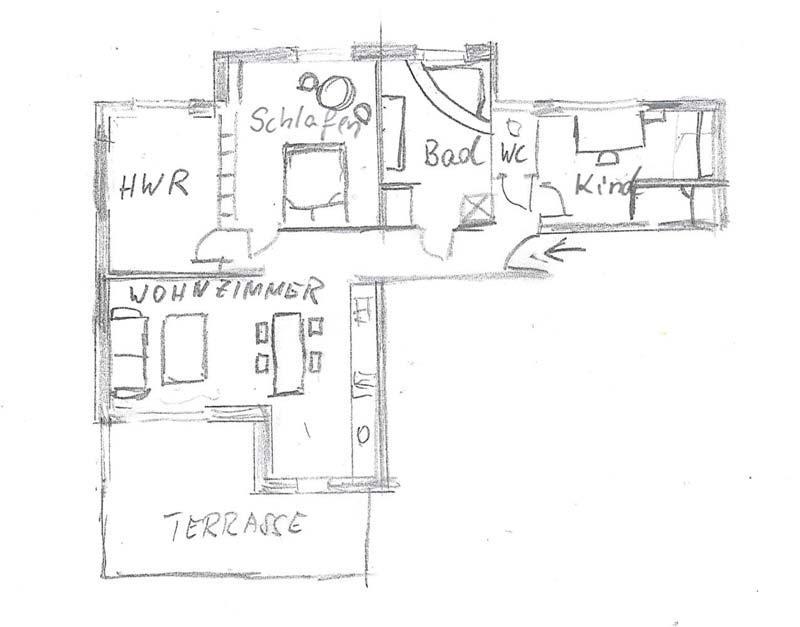 Grundriss Wohnzimmer Feng Shui