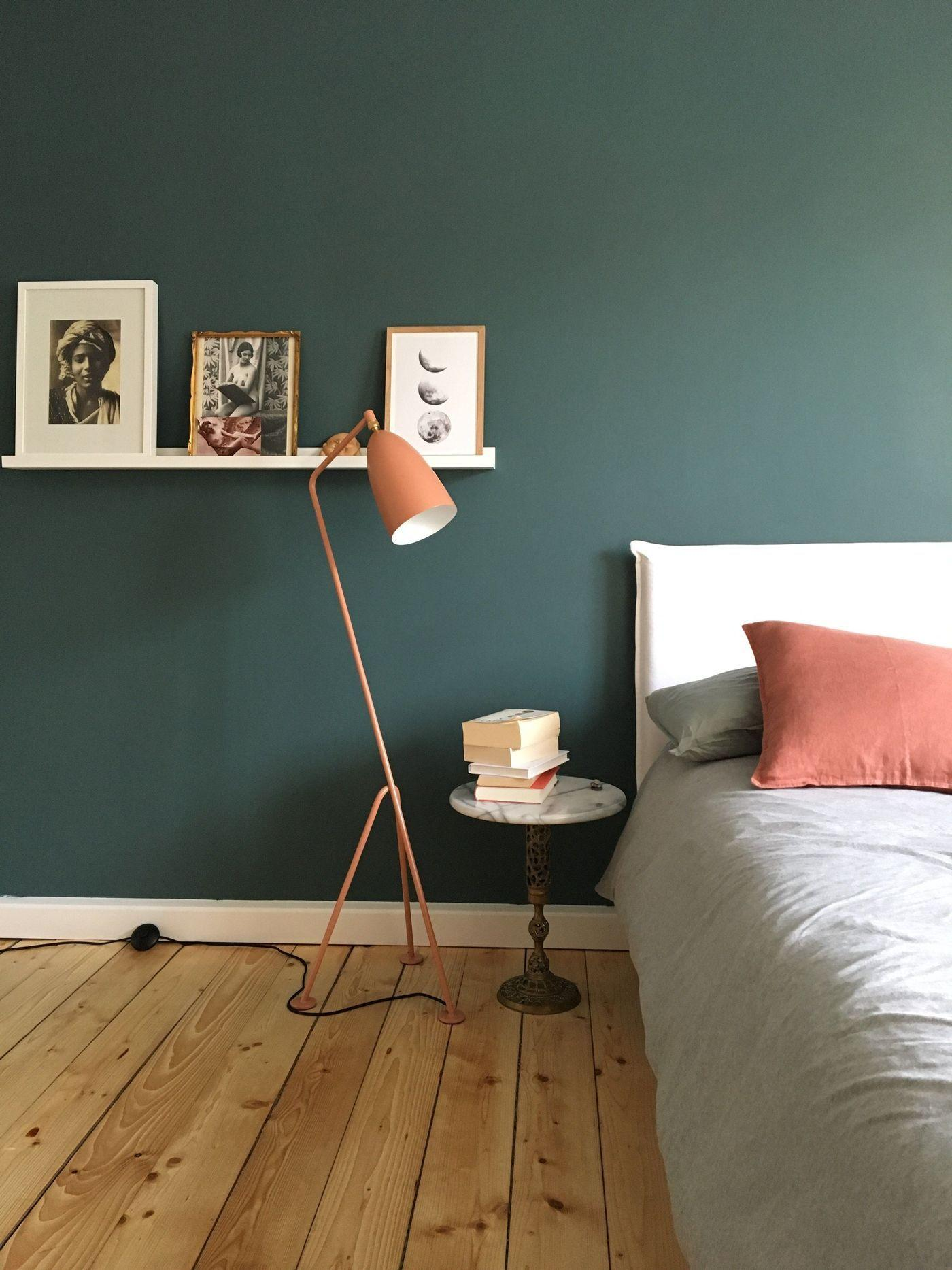 Grüne Wandfarbe Für Schlafzimmer