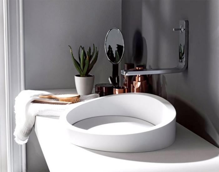 Grünes Badezimmer Modern