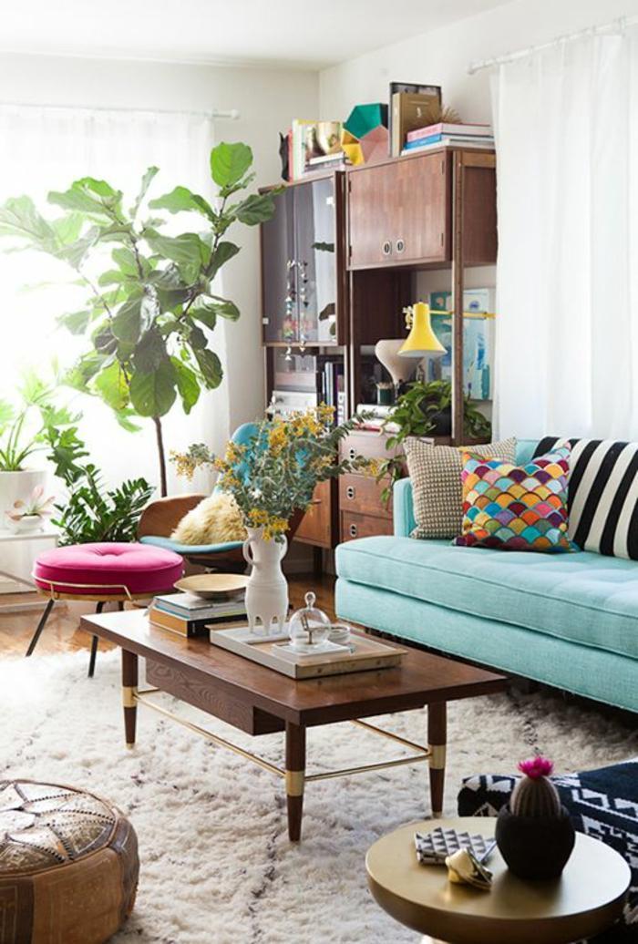 Grünes Sofa Dekorieren