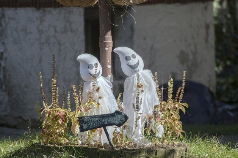 Halloween Deko Garten