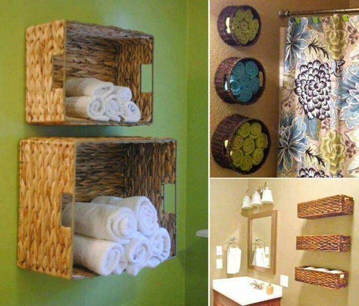 Handtücher Bad Dekorieren