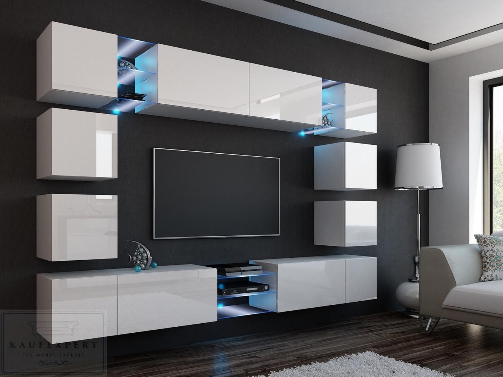 Hängeschrank Weiß Wohnzimmer