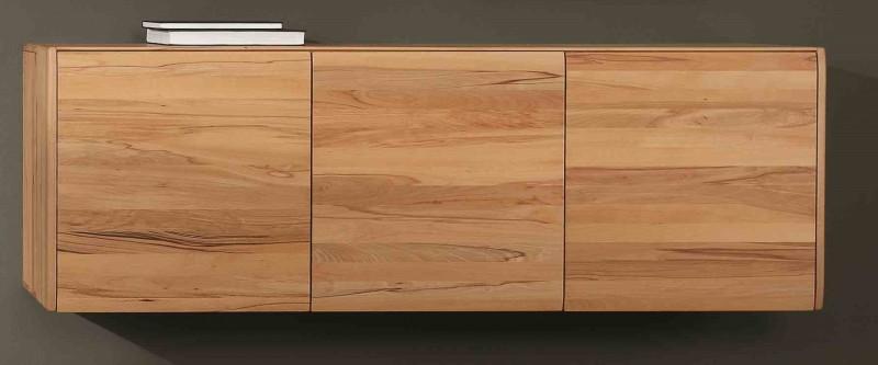 Hängeschrank Wohnzimmer Holz