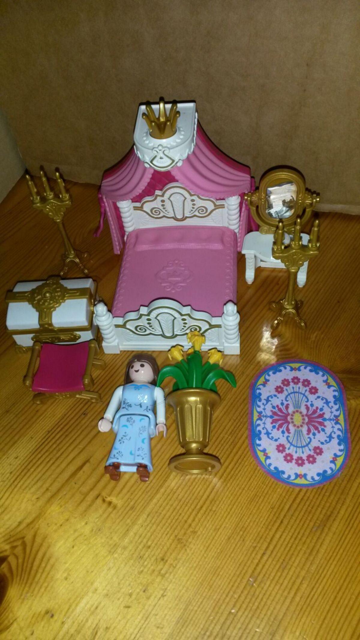 Himmelbett Playmobil Schlafzimmer