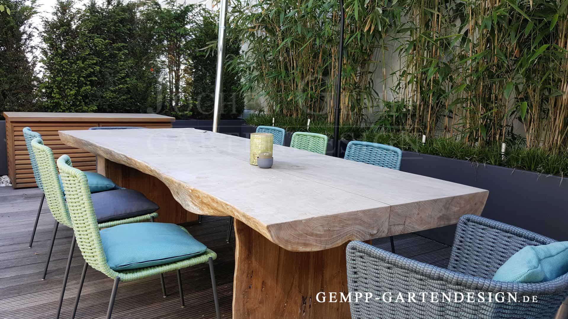 Hochwertige Gartenmöbel Holz