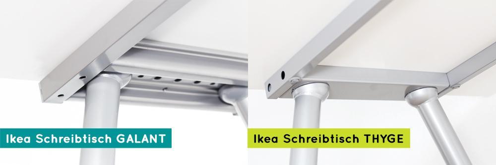 Höhenverstellbarer Schreibtisch Gestell Ikea