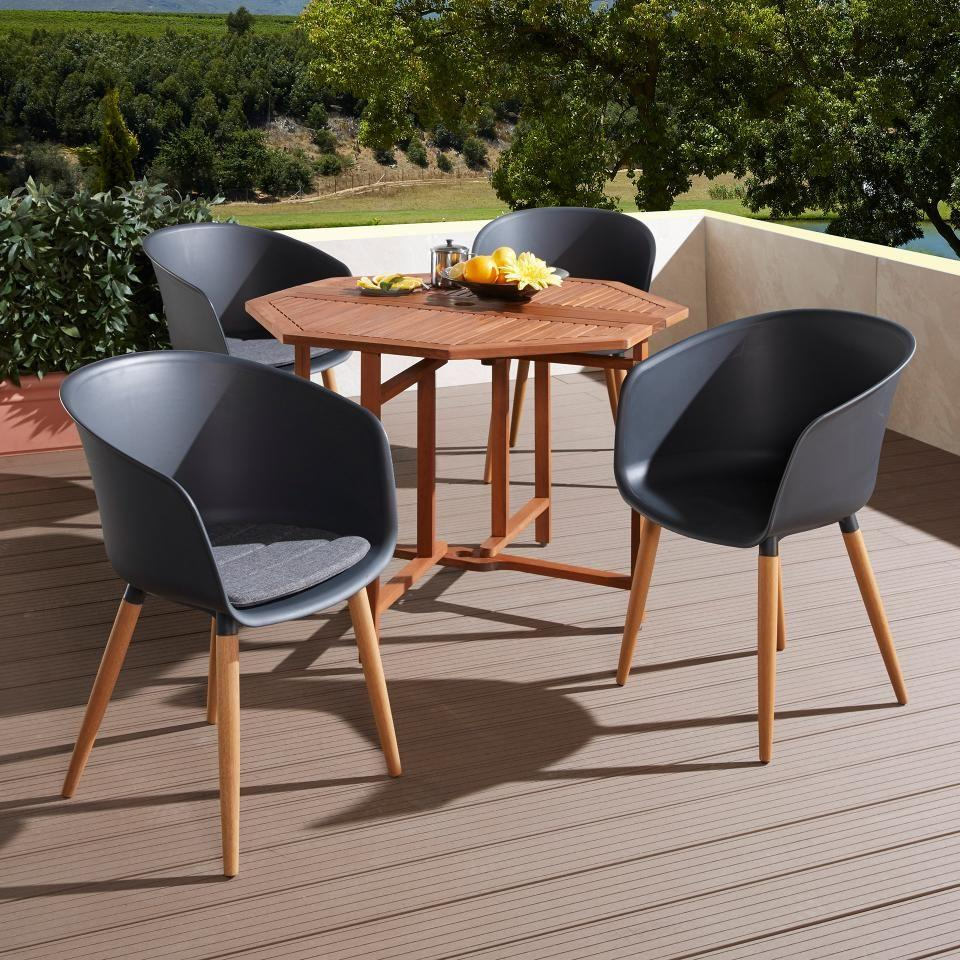 Holz Dänisches Bettenlager Gartentisch