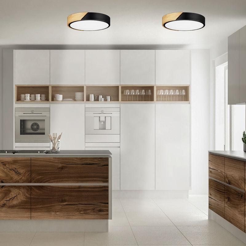 Holz Deckenlampe Wohnzimmer