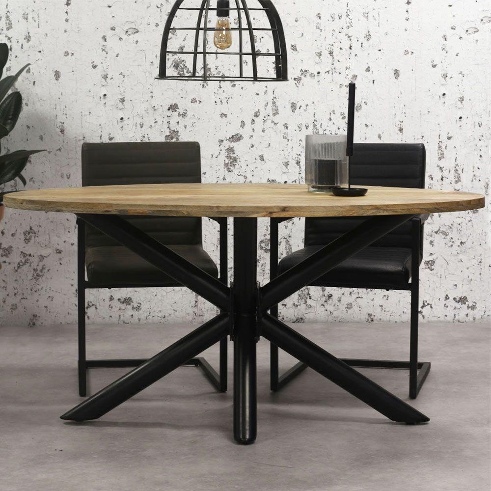Holz Esstisch Oval