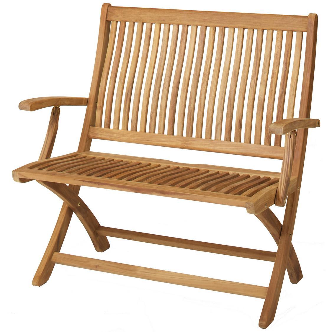 Holz Gartenbank Klappbar