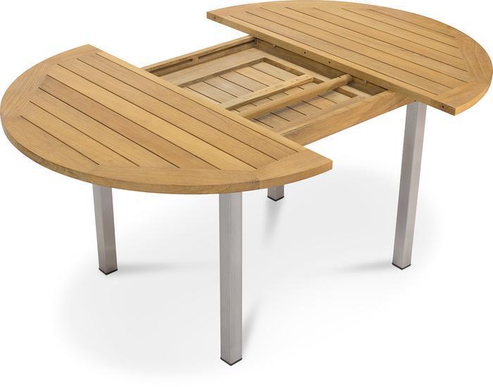 Holz Gartentisch Rund 120 Cm