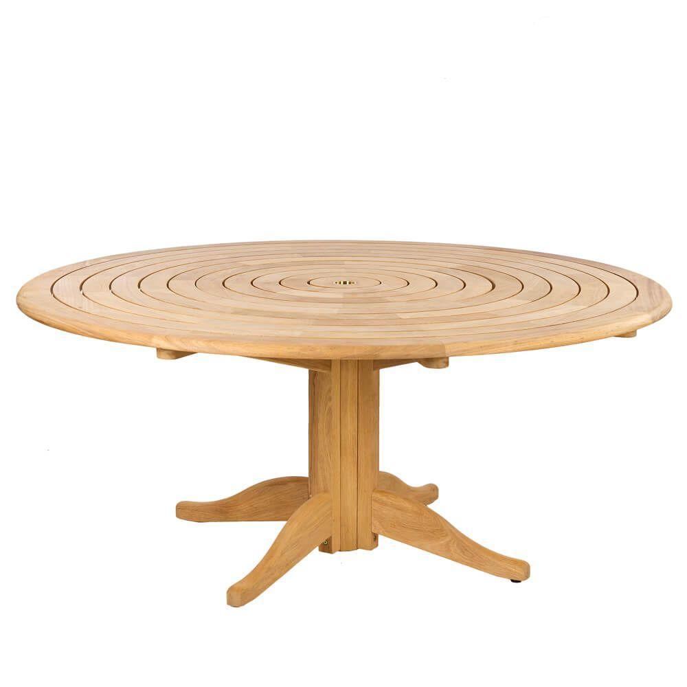Holz Gartentisch Rund