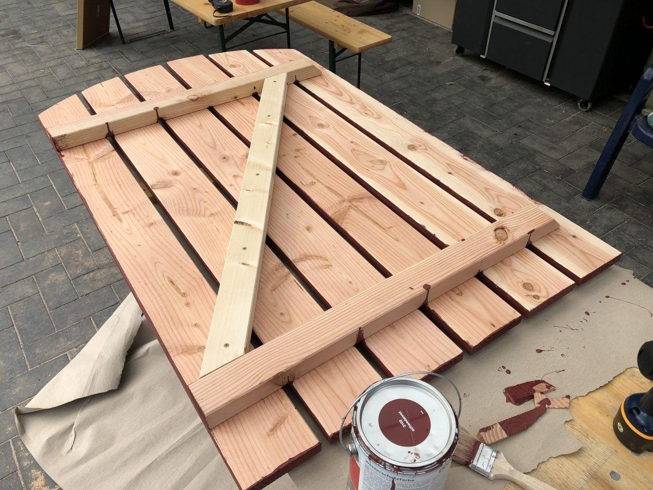 Holz Gartentor Selbst Bauen