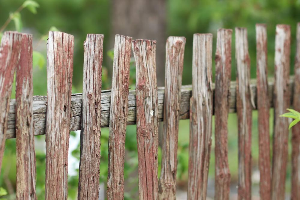 Holz Gartenzaun Bauen