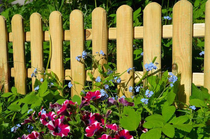 Holz Gartenzaun Selber Bauen