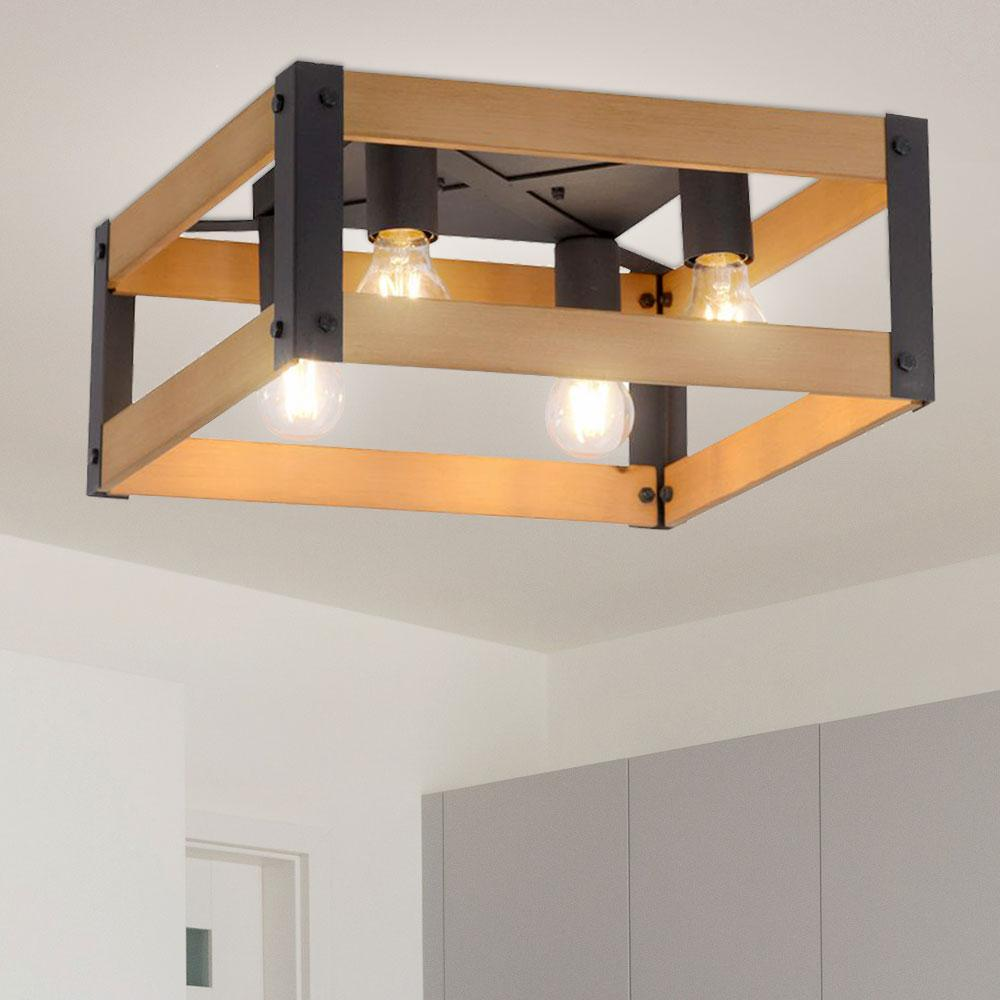 Holz Lampen Decke
