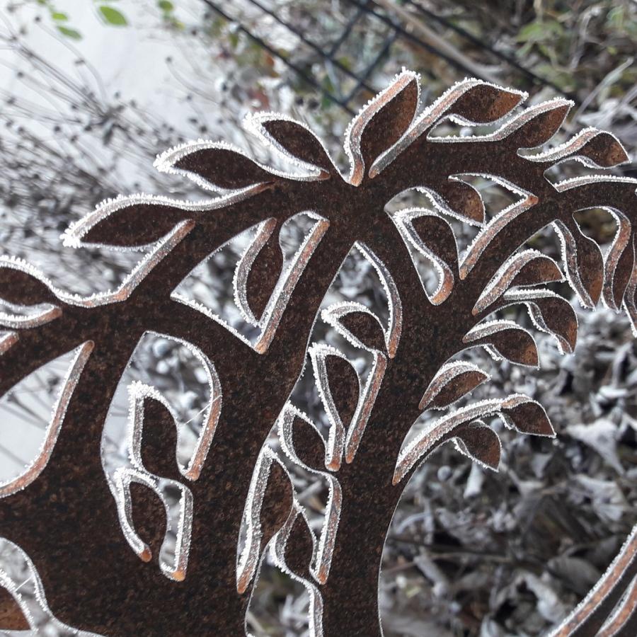 Holz Metall Deko Garten