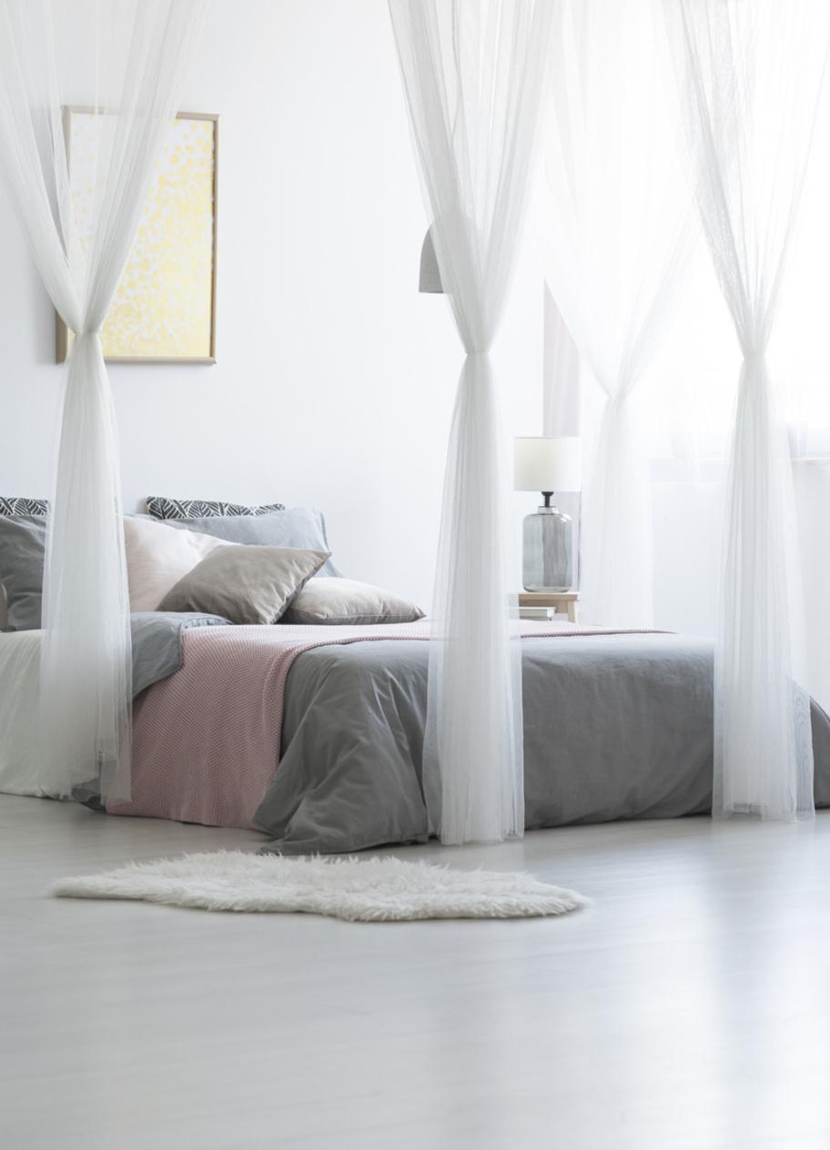 Holz Schlafzimmer Wanddeko