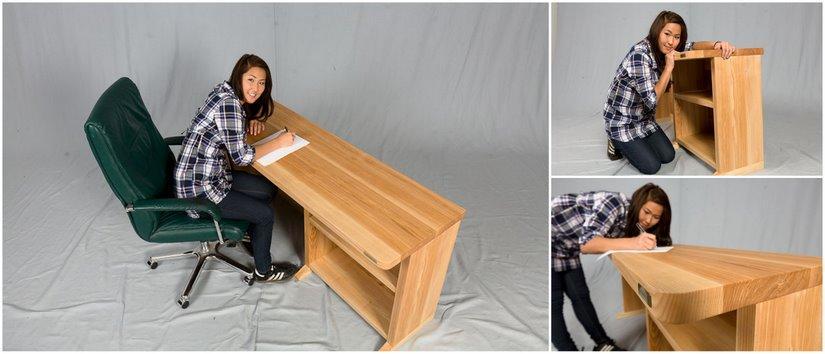 Holz Schreibtisch Groß