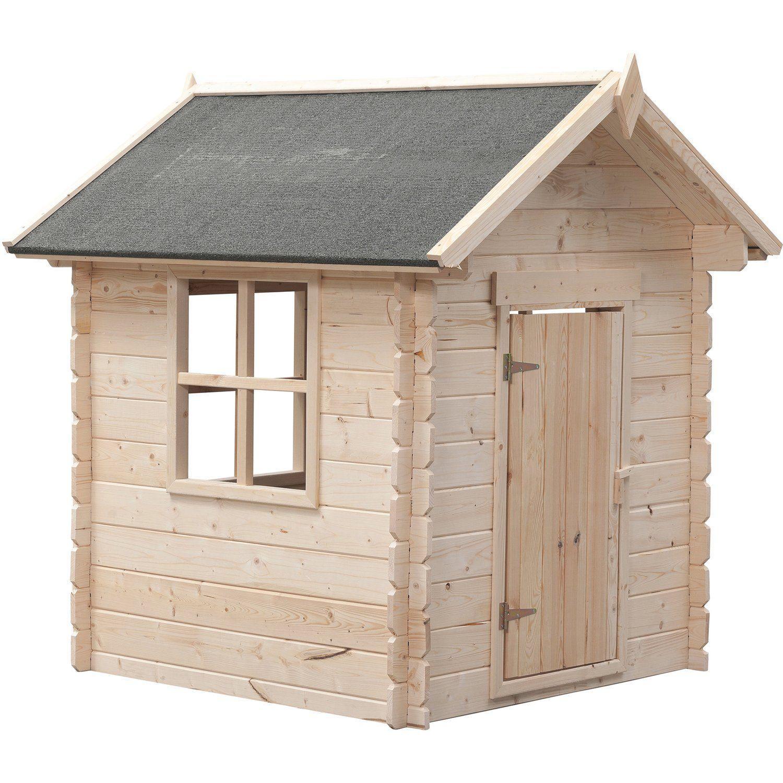 Holz Spielhaus Obi