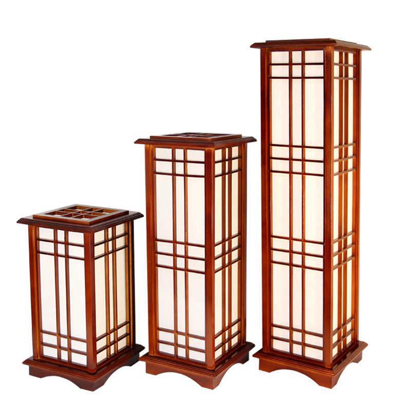 Holz Stehlampe Design