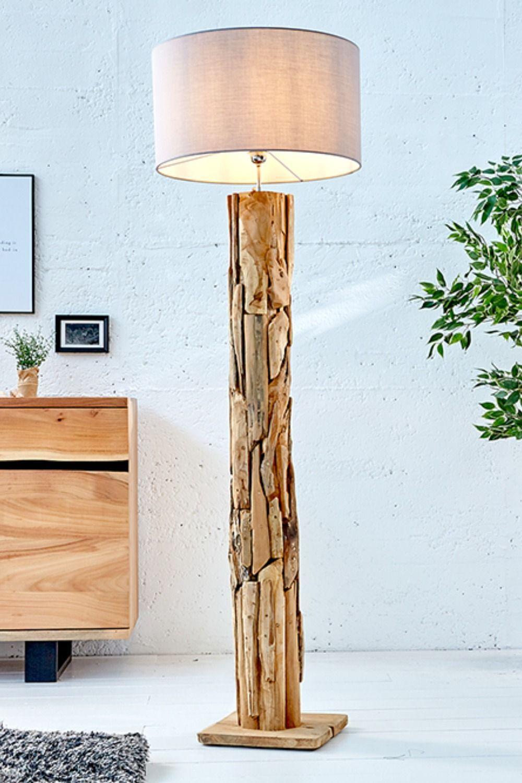 Holz Stehlampe Treibholz