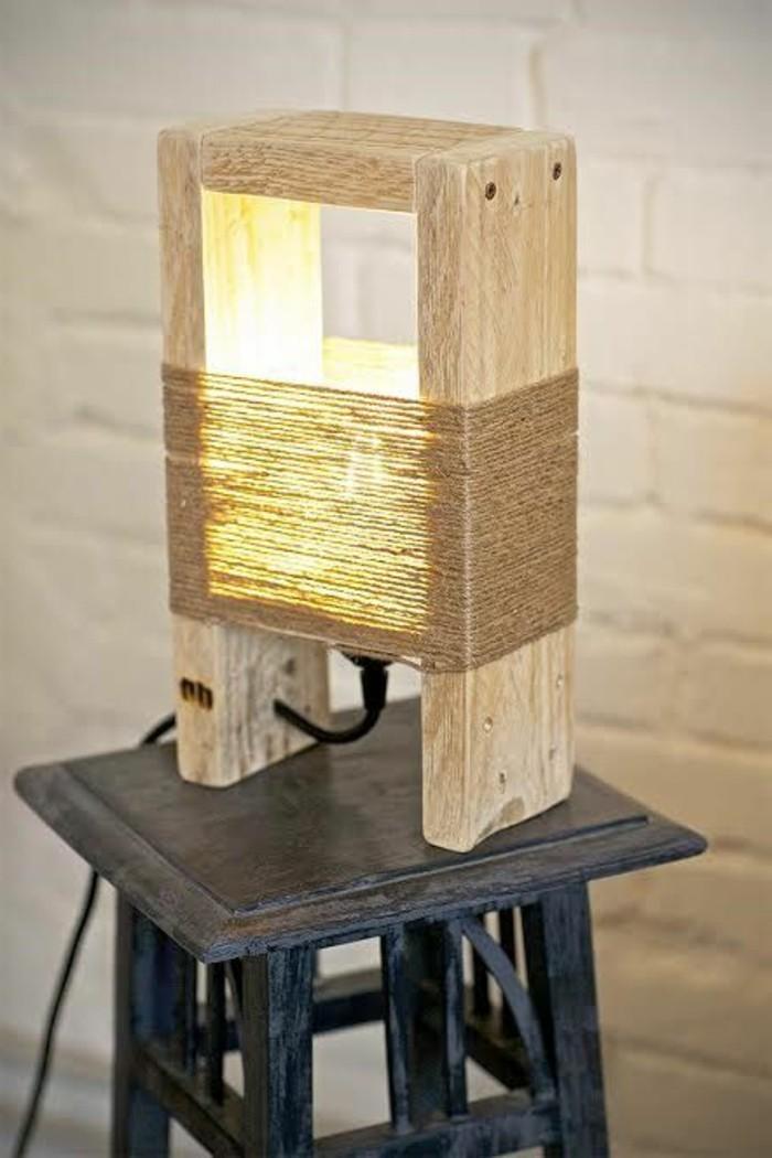 Holzbalken Lampe Selber Bauen