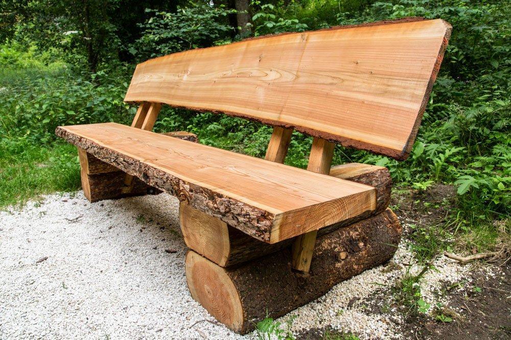 Holzbank Gartenbank Selber Bauen
