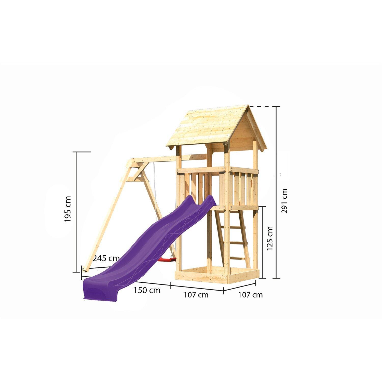 Holzleiter Für Spielturm
