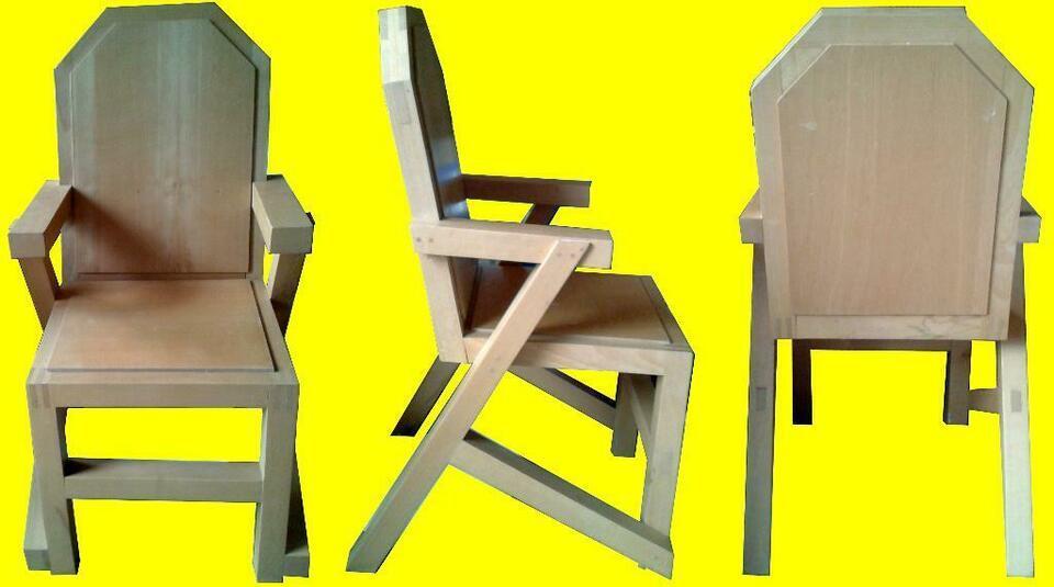 Holzstuhl Mit Armlehne Gebraucht