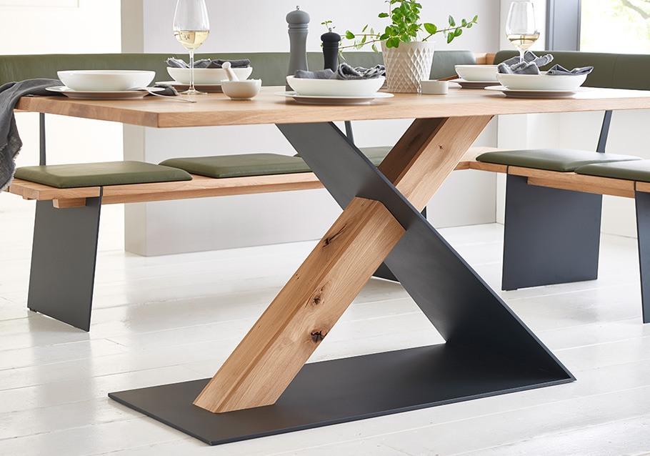 Holztisch Esszimmer Rustikal