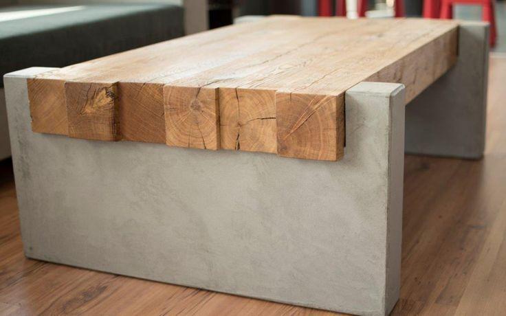 Holztisch Wohnzimmer Eiche