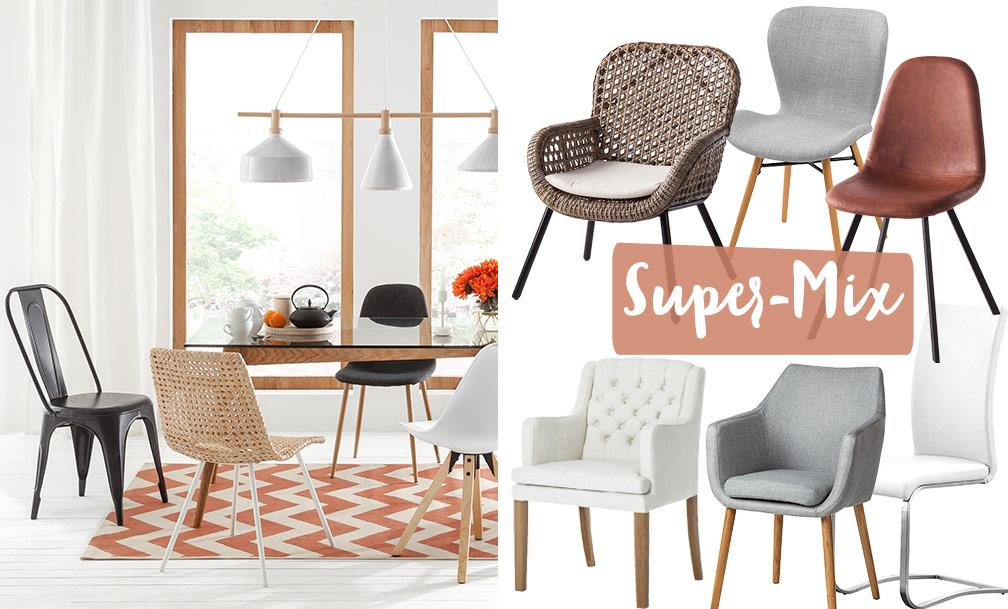 Home24 Stuhl Weiß