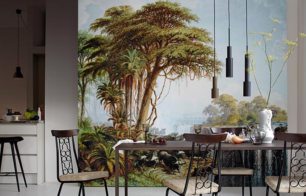 Ideen 3d Wandbilder Wohnzimmer