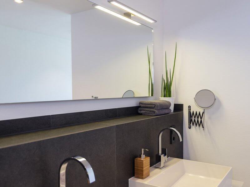 Ideen Badezimmer Holzoptik