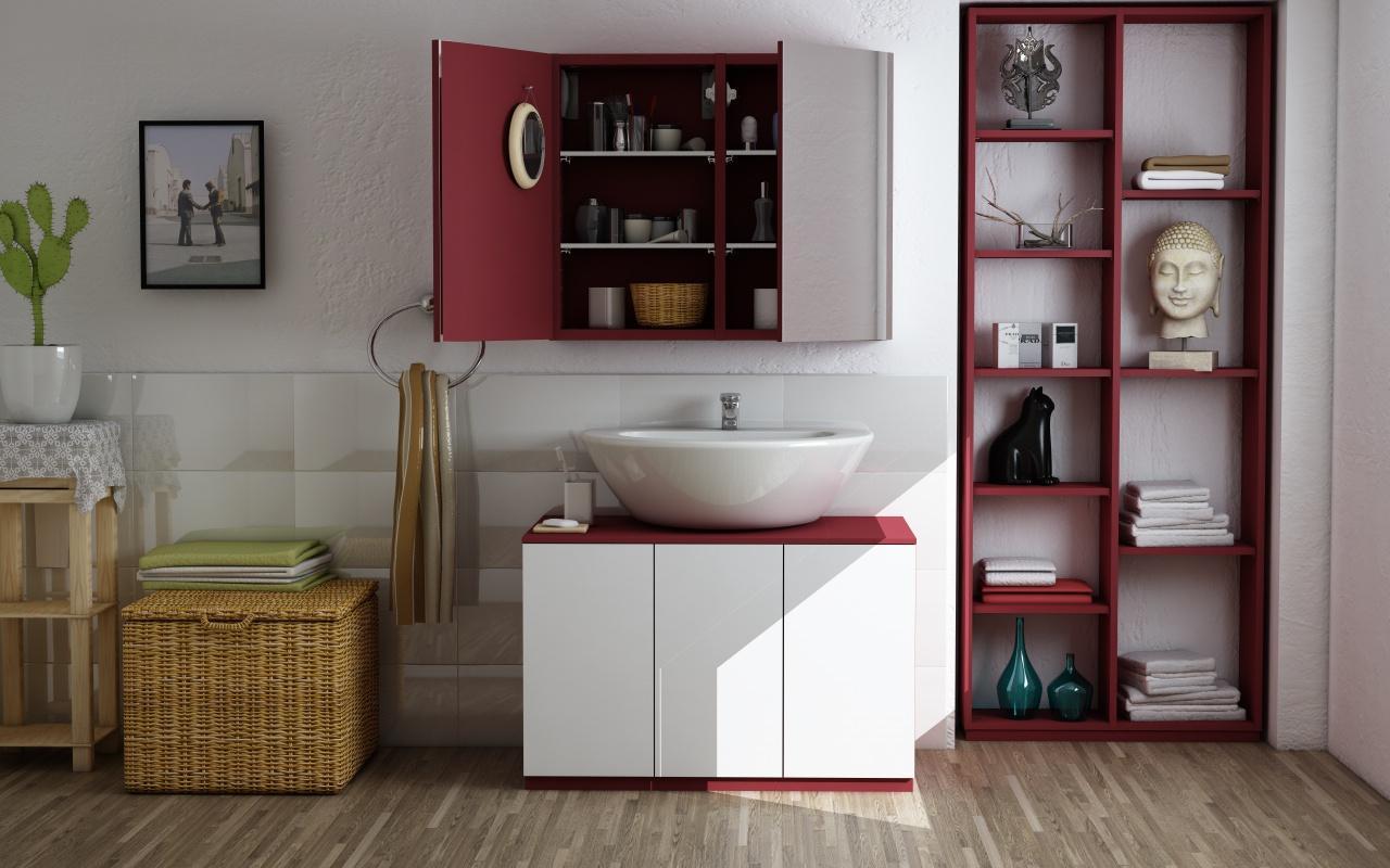Ideen Badezimmer Waschbeckenunterschrank