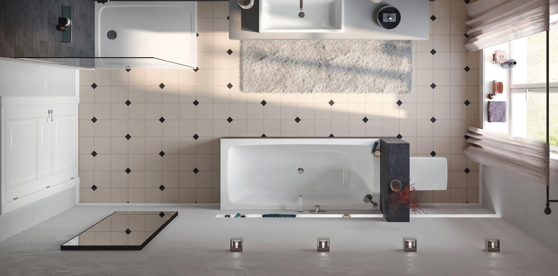 Ideen Fliesenspiegel Bad