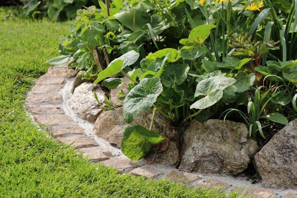 Ideen Gartengestaltung Mit Feldsteinen