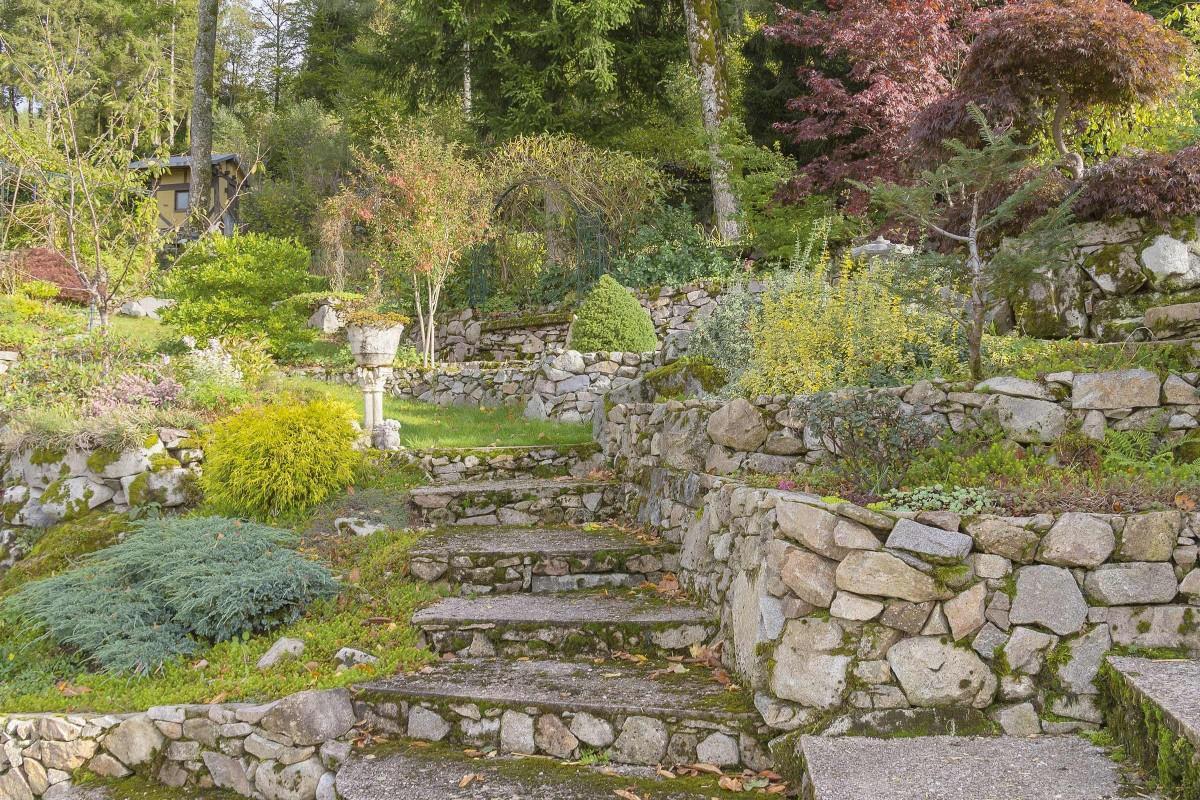 Ideen Gartengestaltung Steile Hanglage
