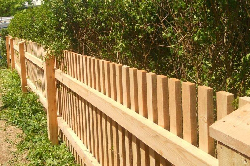 Ideen Gartenzaun Holz Sichtschutz