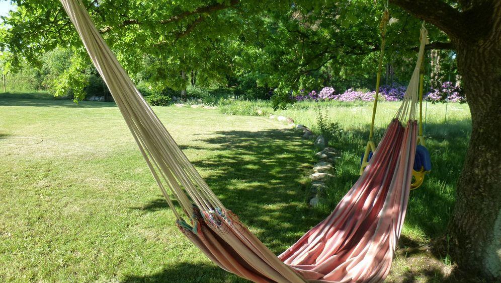 Ideen Hängematte Garten