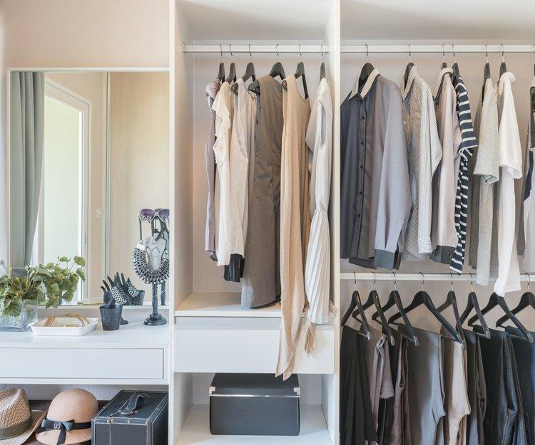 Ideen Kleiderschrank Einräumen