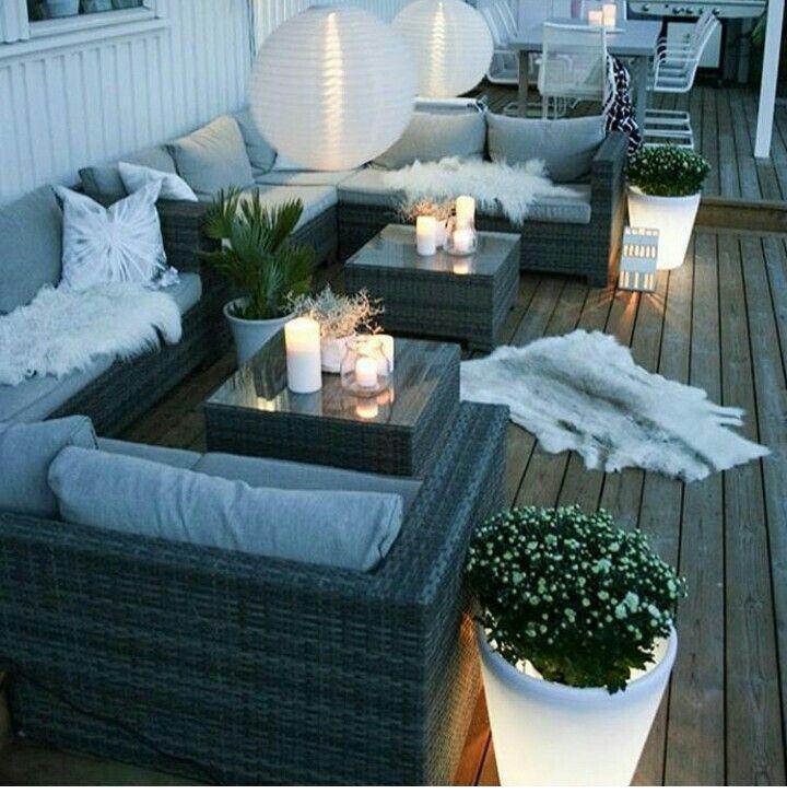 Ideen Loungemöbel Balkon Klein
